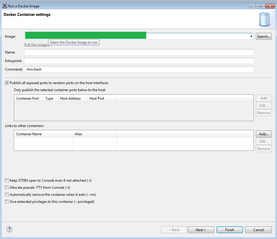 Using Eclipse Neon 4.6.1 And The Docker Tools Plug-in 2.1